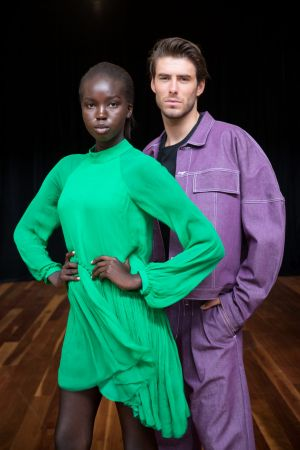 Stylist Kate Gaskin said there would be more colour in the clothes on the runway than in recent years.