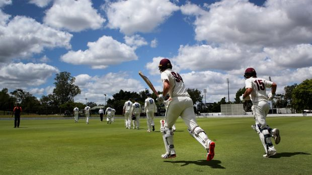 Queensland bowled out WA for 93 to secure a spot in the Sheffield Shield final.