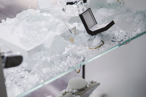 Bijoux Jewellery at Manuka was broken into on 3:50AM Wednesday morning.