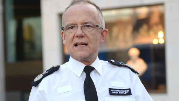 Head of counter-terrorism policing Assistant Commissioner Mark Rowley speaks about the assassination attempt on Sergei ...