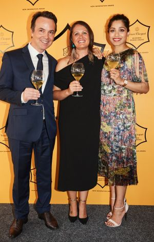 As part of her award, Mikaela Jade will travel to France to visit the famous Veuve Clicquot champagne house and even ...