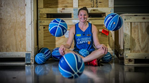 The Canberra Capitals have shipped in a new recruit, Kelsey Griffin.