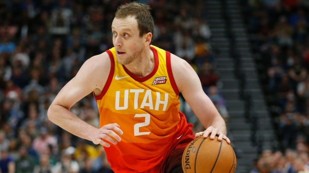 Utah Jazz' Joe Ingles has continued his good form.