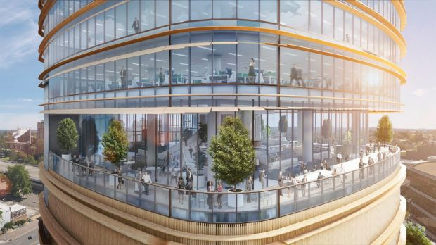 PT's proposed 32 Smith Street,Parramatta tower designed by architecture firm Fender Katsalidis