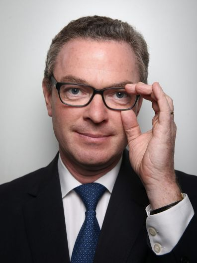 Minister for Industry, Innovation and Science, Christopher Pyne, poses for a portrait after the announcement of the ...