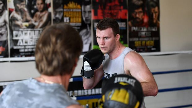 Underdog: Jeff Horn will be fighting for American respect when he takes on Terence Crawford.