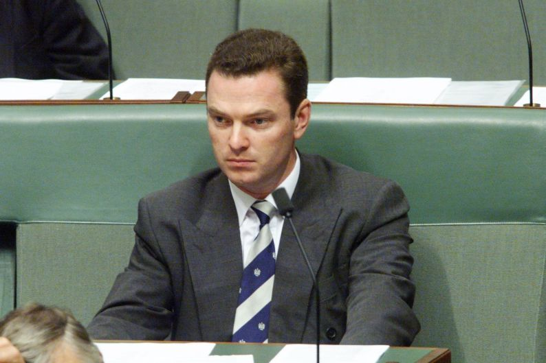 Parliament House, Canberra. Backbench Liberal MP Christopher Pyne.