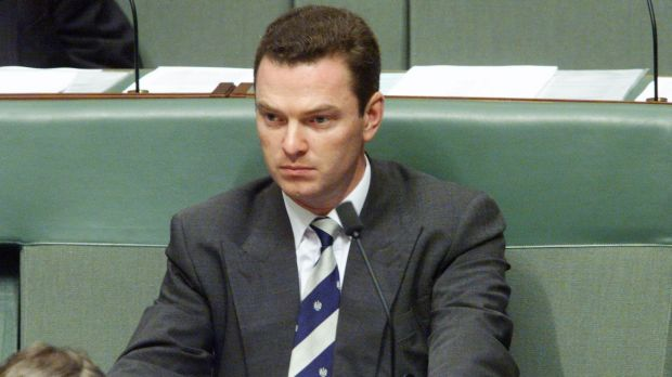 Christopher Pyne was just 25 when elected to Federal Parliament in 1993.