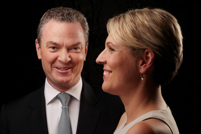 Christopher Pyne and Tanya Plibersek come together to celebrate the 40th anniversary of ABBA for GoodWeekend magazine at ...