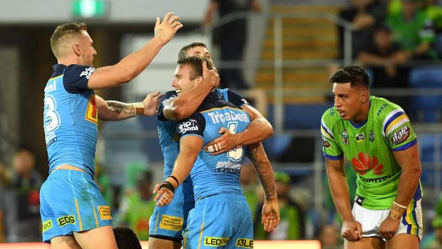 The Raiders twice held an 18-point advantage but lost at the death against the Gold Coast Titans on Sunday.