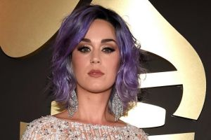 LOS ANGELES, CA - FEBRUARY 08:  Katy Perry  attends The 57th Annual GRAMMY Awards at the STAPLES Center on February 8, ...