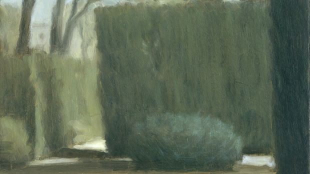 Peter Boggs, Study for Giardino dei Sogni iii in Lux at Beaver Galleries.