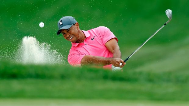Tiger Woods fell just one shot short in Palm Harbor.