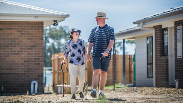 Lee and Jacqui Forster are retiring to Throsby in Canberra after living in Batemans Bay for 13 years.
