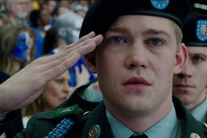 Actor Joe Alwyn in Billy Lynn's Long Halftime Walk.