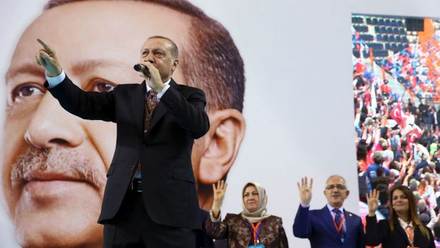 Turkish President Recep Tayyip Erdogan has criticised NATO for not supporting his country's ongoing military operation ...