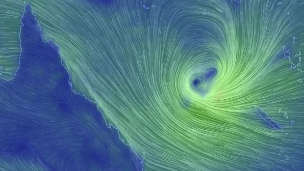 A tropical low in the Coral Sea is expecting to head south-west towards south-east Queensland.