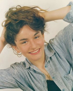 Sarah, pictured here as a teenager, had aspired to be a model when she was younger.