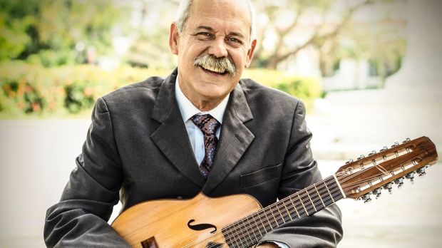 "Barbarito Torres with his laud, a type of lute. Through the Buena Vista Social Club ""I got to play it for the world and ..."