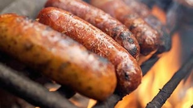 High salt content in sausages can be a health snag.