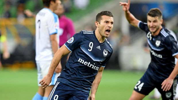 Melbourne Victory's Kosta Barbarouses scored the only goal of the match.