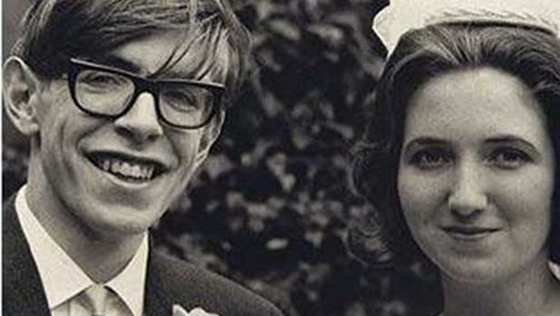 Stephen Hawking and Jane Wilde in 1965.