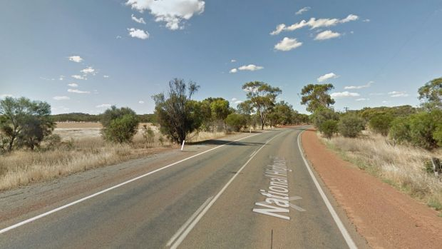Great Northern Highway near New Norcia.