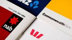 Australia's big four banks.