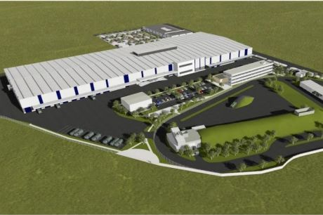 Artists impression of the Redbank Military Vehicle Centre for Excellence at Redbank.