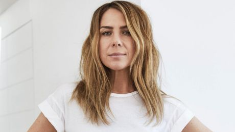 Kate Ritchie modelling for Jockey.