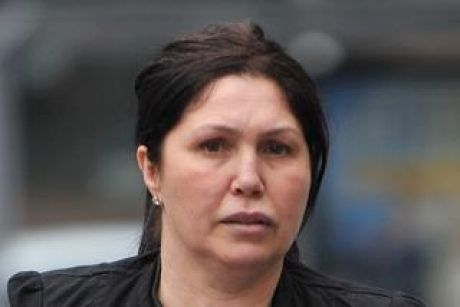County court - Carl Williams murder case - Roberta Williams (in Black) 12th of September 2011 The Age news Picture by ...