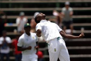 Slow start: Kagiso Rabada's return belied his talent as a student - but now he's reaping the rewards.