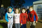 Alexa Lappe, 8, Janie Rader, 4, Jack Lappe, 6, and Will Rader 6.