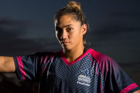 Brumbies debutant Charlene Gubb wasn't sure if she'd even play rugby in Canberra.