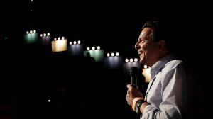 SA Best leader Nick Xenophon was update in Adelaide on Saturday night despite his party's poorer-than-expected performance.