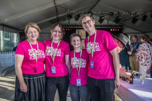 From left, Suzanne Dwyer, of Calwell, Renee Boyle, of Bonython, Elise Deprez, of Canberra city, and Andy Leach, of Red Hill.