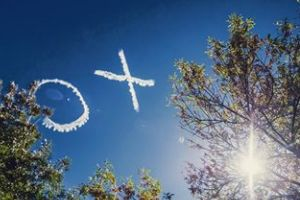 Letters in the sky over Manuka beautifully captured by Karleen Minney, @karleenminney.