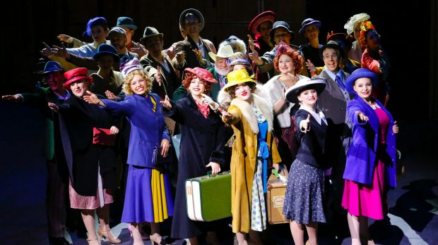 Free Rain Theatre's production of 42nd Street was fantastic.