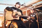 Social Seen:?Good Charlotte front men Joel Madden and Benji Madden performing for an intimate crowd on V Island on ...