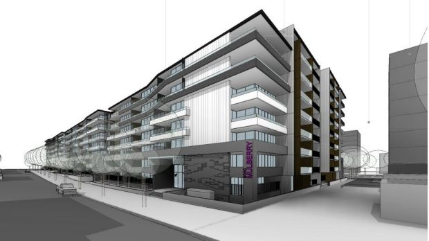 An artist's impression of developer Johnny Roso's Art Group Soho development,