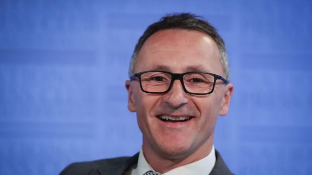 'War on drugs has failed': Greens leader Richard di Natale.