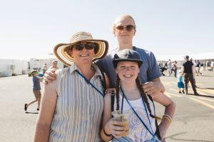 From left, Maxine Keft of Primrose Valley, with her children Jemma 11, and Jared 19.