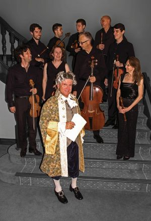 Salut! Baroque with Colin Milner (front).