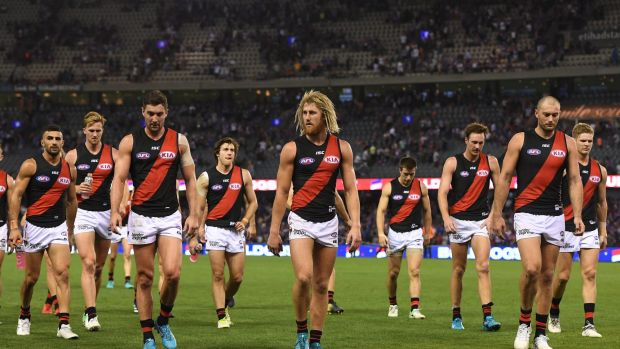 Disappointing start: The Bombers have failed to fire in all but one of their 12 quarters this season.
