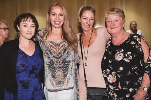 From left, Trish Youngson, of Spence, Grace, of Gungahlin, Michelle Dowdle and Yvonne Barrett, both of Tura Beach.