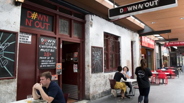 Down N' Out restaurant in George Street, Sydney is at the centre of a Federal Court dispute with the US burger chain ...
