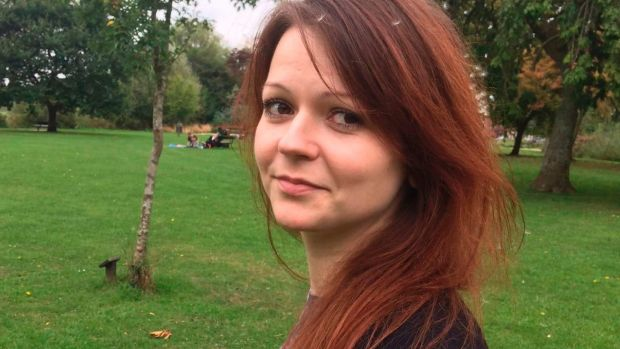 Yulia Skripal, the poisoned daughter
