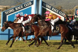 Eight races will be held at Scone today.
