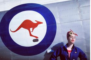 Reader @spenciespencephotography matched a bold outfit with the livery on a RAAF aircraft at Canberra Airport's open day.