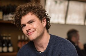 James Keogh, otherwise known as singer Vance Joy, chats over lunch at Kaprica Pizza in Carlton.